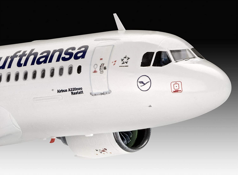 1//100 Multicoloured Revell RV63942 63942 Airbus A320 Neo Lufthansa Model Set kit