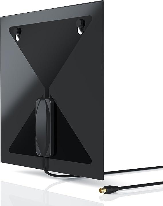 Aplic - Antena DVB-T T2 2dbi - Antena de Interior con Conector ...