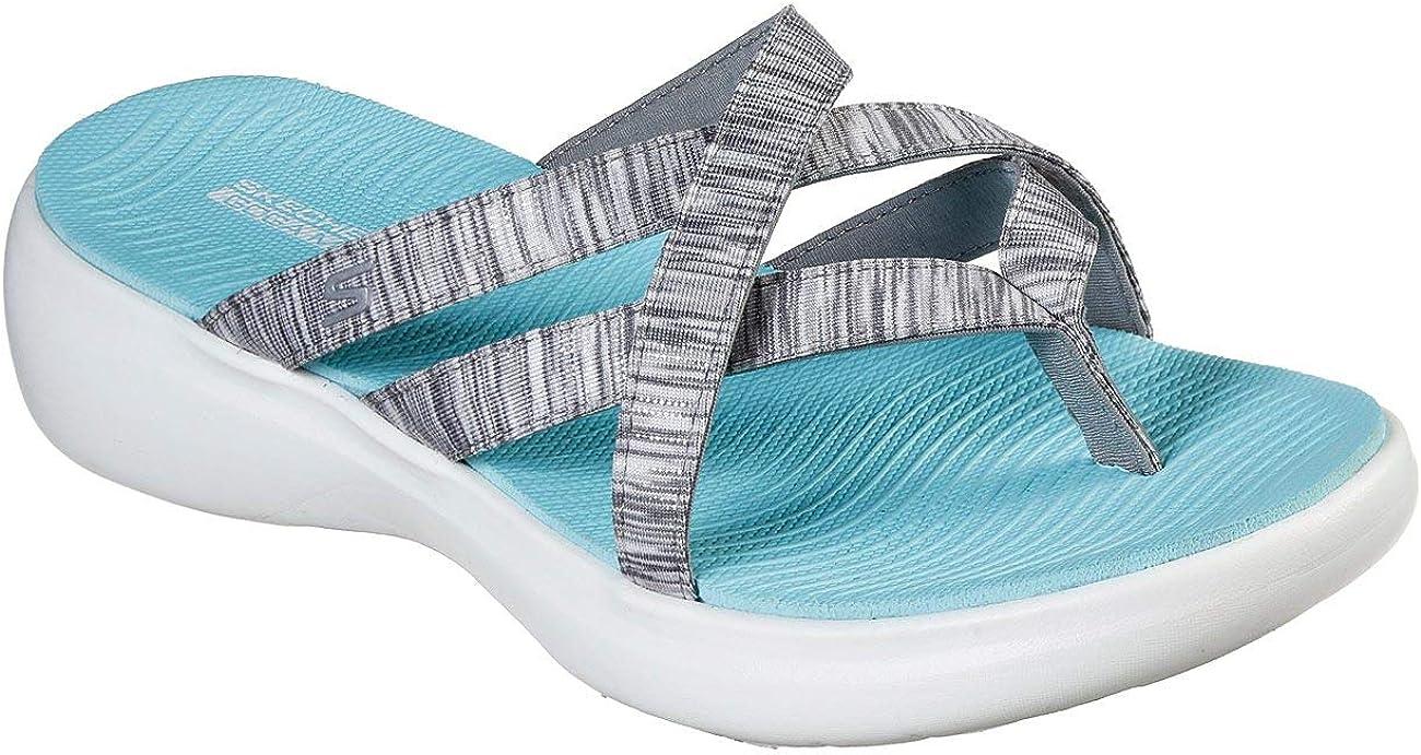 Skechers Performance Women S On The Go 600 Luxe Luvly Slide Sandal Sport Sandals Slides