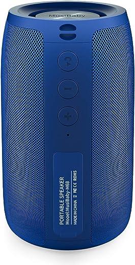 Bluetooth Portable,Waterproof,Wireless Speakers,Dual Pairing Loud Stereo Booming Bass
