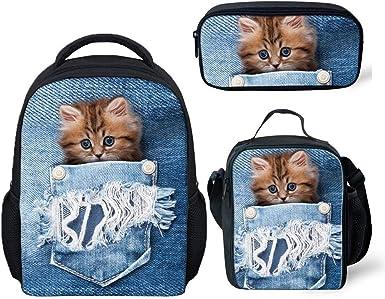 Funny Animal Bag Mini Baby Toddler Kids Backpack School Lunch Shoulder Bag