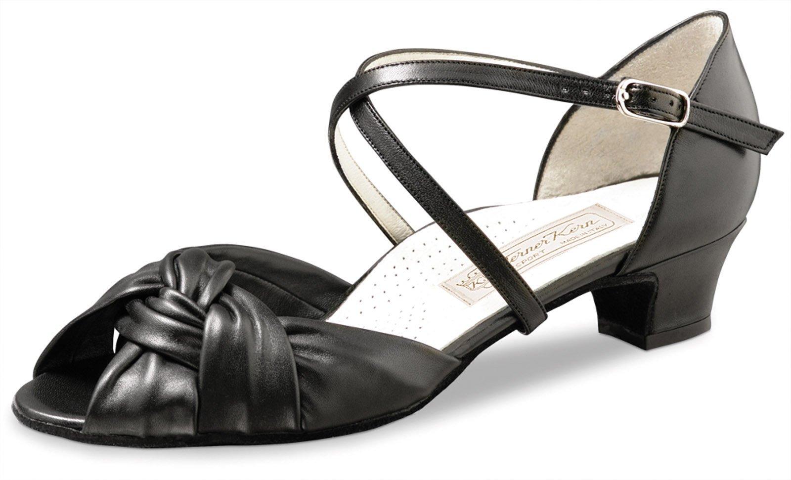 Werner Kern Women's Ulla - 1 1/2'' (3.4 cm) Thick Heel, Comfort Line, 8.5 M US (5.5 UK)