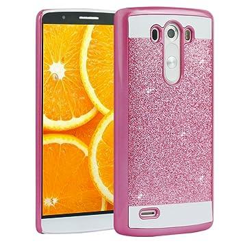 G3 D855 PC Dura,LG G3 Tapa,Asnlove Carcasas y Funda Hard Case,Teléfono Móvil Caja Protectora Dura Colorido Chic Caso, Cover Policardonato Dura Brillo ...
