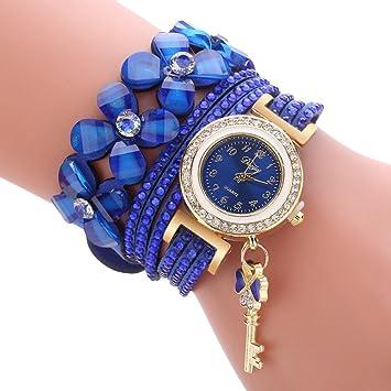 NICERIO Reloj de Pulsera de Mujer, Reloj de Cuarzo de Lujo de Moda Relojes Informales