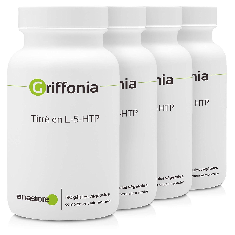 GRIFFONIA SIMPLICIFOLIA * 170 mg / 90 cápsulas * Cerebro (dolor de cabeza), Energia, Equilibrio emocional, Músculos & esqueleto, Peso (corta-hambre, ...