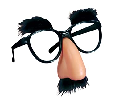 a53cc89493d7 Amazon.com  Loftus International 099996009395 Joker Classic Fuzzy Nose  Glasses Black Beige One Size (5