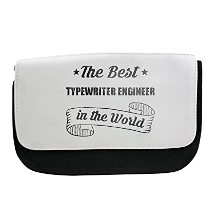 El mejor ingeniero de máquina de escribir en el mundo estuche, maquillaje bolsa, Multibag