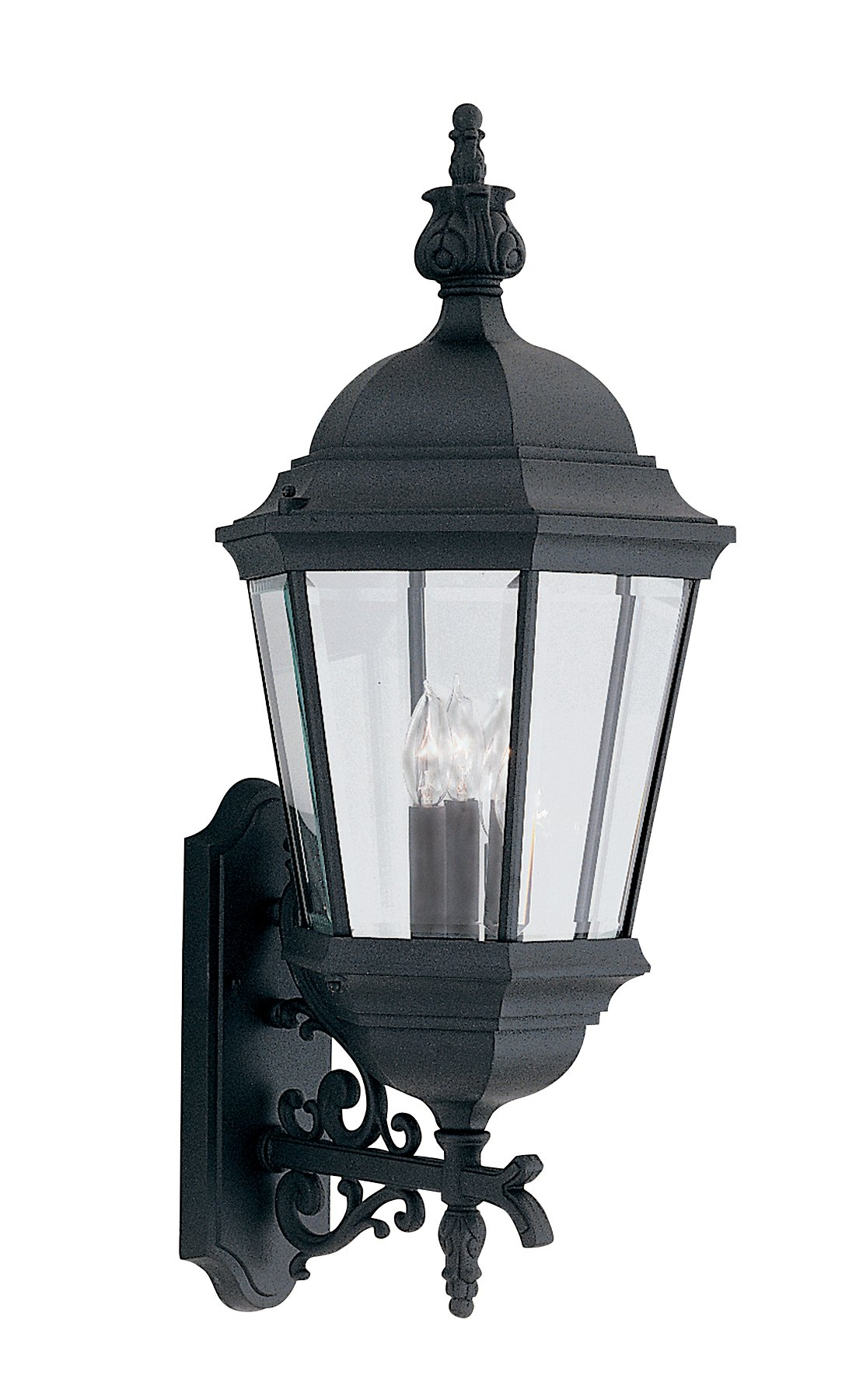 Designers Fountain 2952-BK Value Collection Wall Lanterns, Black