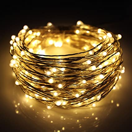 Micro Led String Lights Gorgeous Amazon ER CHEN Remote Battery Operated Micro LED String Lights