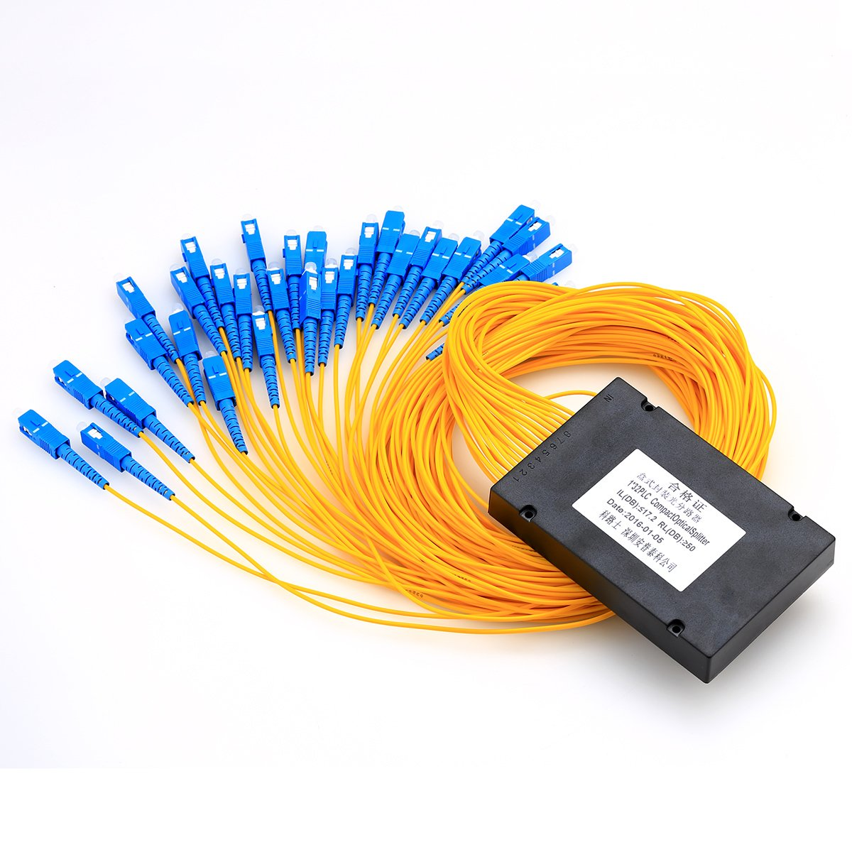 Ftth Optical Equipment Fiber Optic Plc Splitter 132 Sc Wire Tes Energyefficient Electrical Solutions Pigtailed Branching Device Home Audio Theater