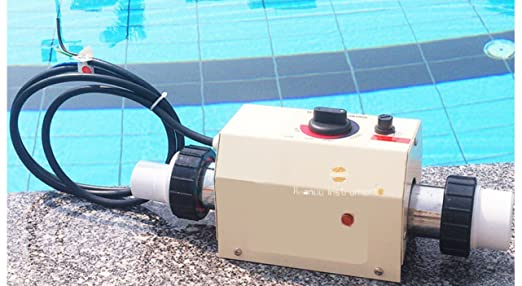 B-M equipo comercial de piscina de agua eléctrico calentador termostato controlador de temperatura para Spa baño: Amazon.es: Jardín