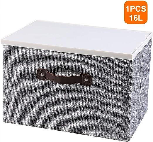 Caja De Almacenamiento Premium con Tapa, Mango Extra Ancho ...