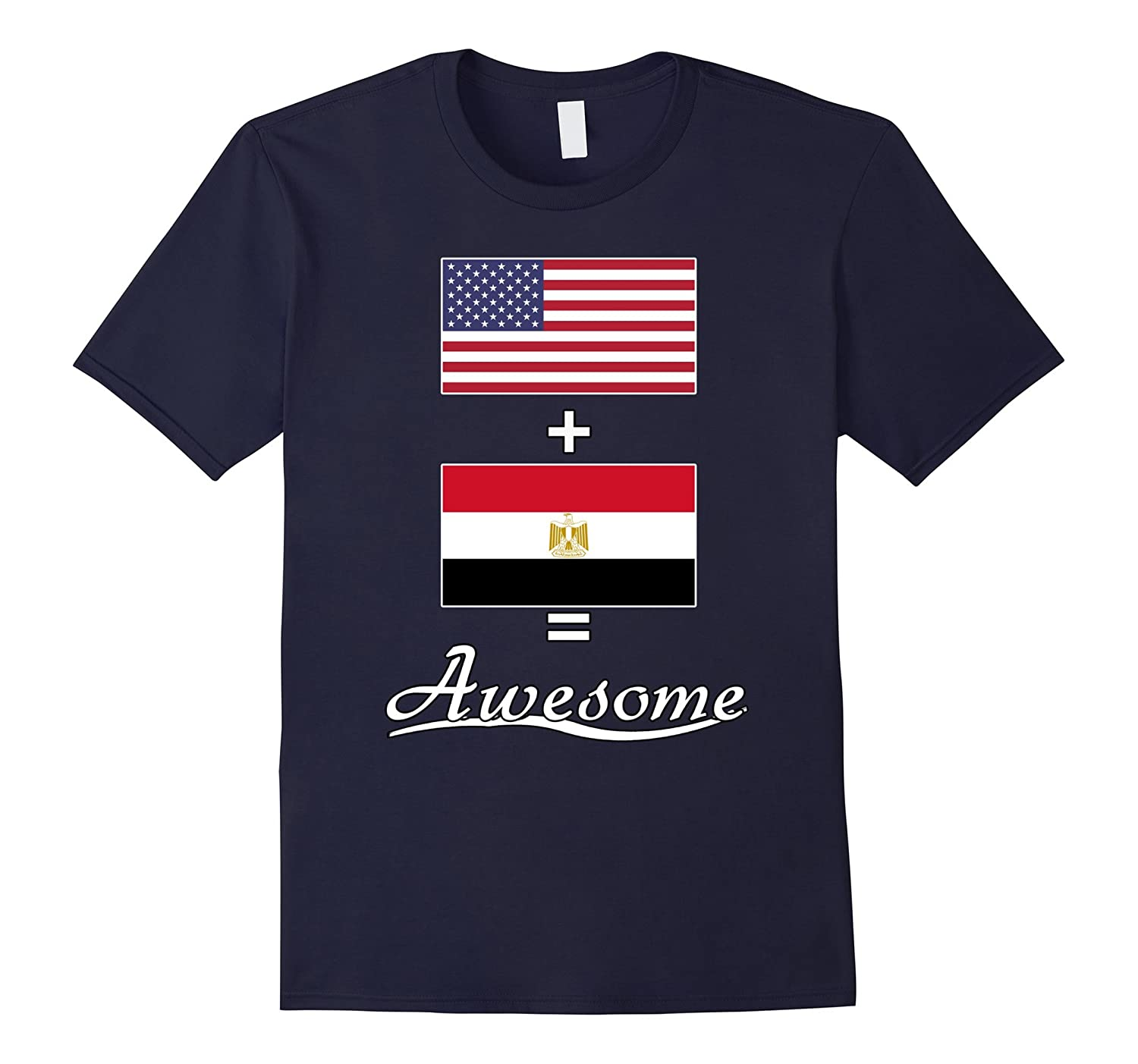 American + Egyptian = Proud Egypt Shirt-Art