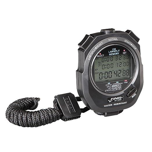 84 opinioni per FINIS 3X100M Stopwatch, Cronometro digitale multifunzione, Nero