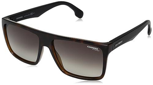 Carrera 5039/S HA, Gafas de Sol Unisex-Adulto, Hvna Mtblack, 58