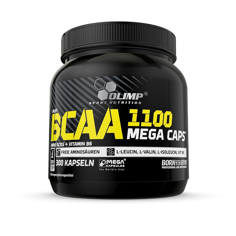 Olimp Bcaa 1100 Mega Caps 300 Kapseln Amazonde Drogerie