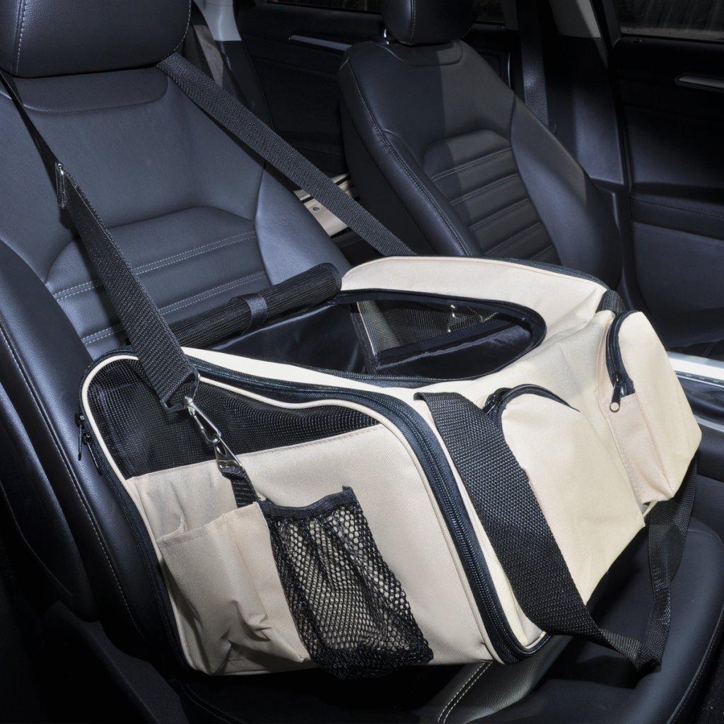 vidaXL Auto Hundetasche Hund Katzen Tasche Autositz Tragetasche Transporttasche