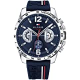 Tommy Hilfiger Analog Blue Dial Men's Watch - TH1791476