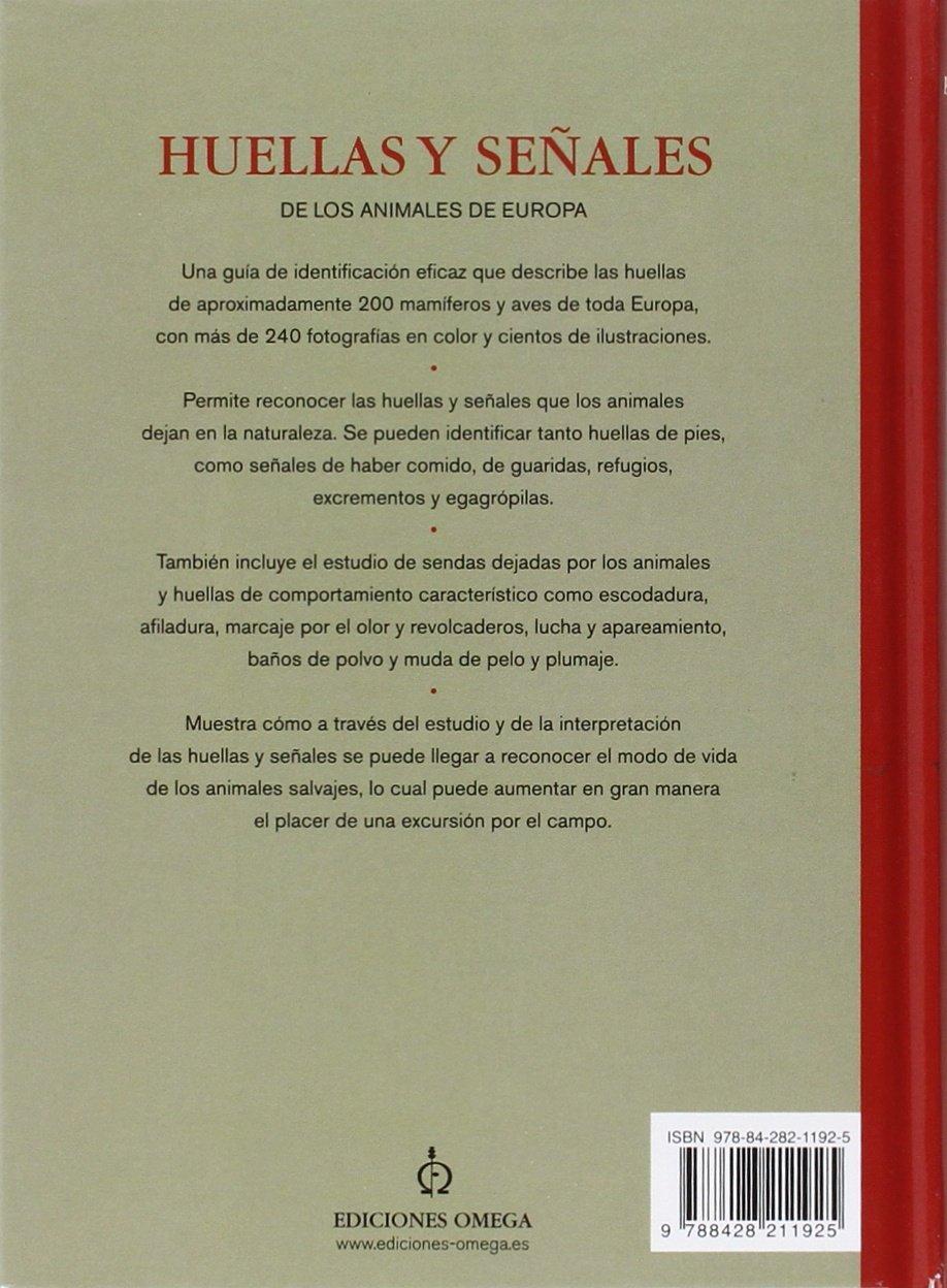 Huellas y señales de los animales de Europa GUIAS DEL NATURALISTA-MAMIFEROS: Amazon.es: BANG, P. Y DAHLSTROM, P.: Libros