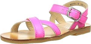 Start-Rite Flora II, Sandali Ragazza, Multicolor (Pink Sparkle), 24