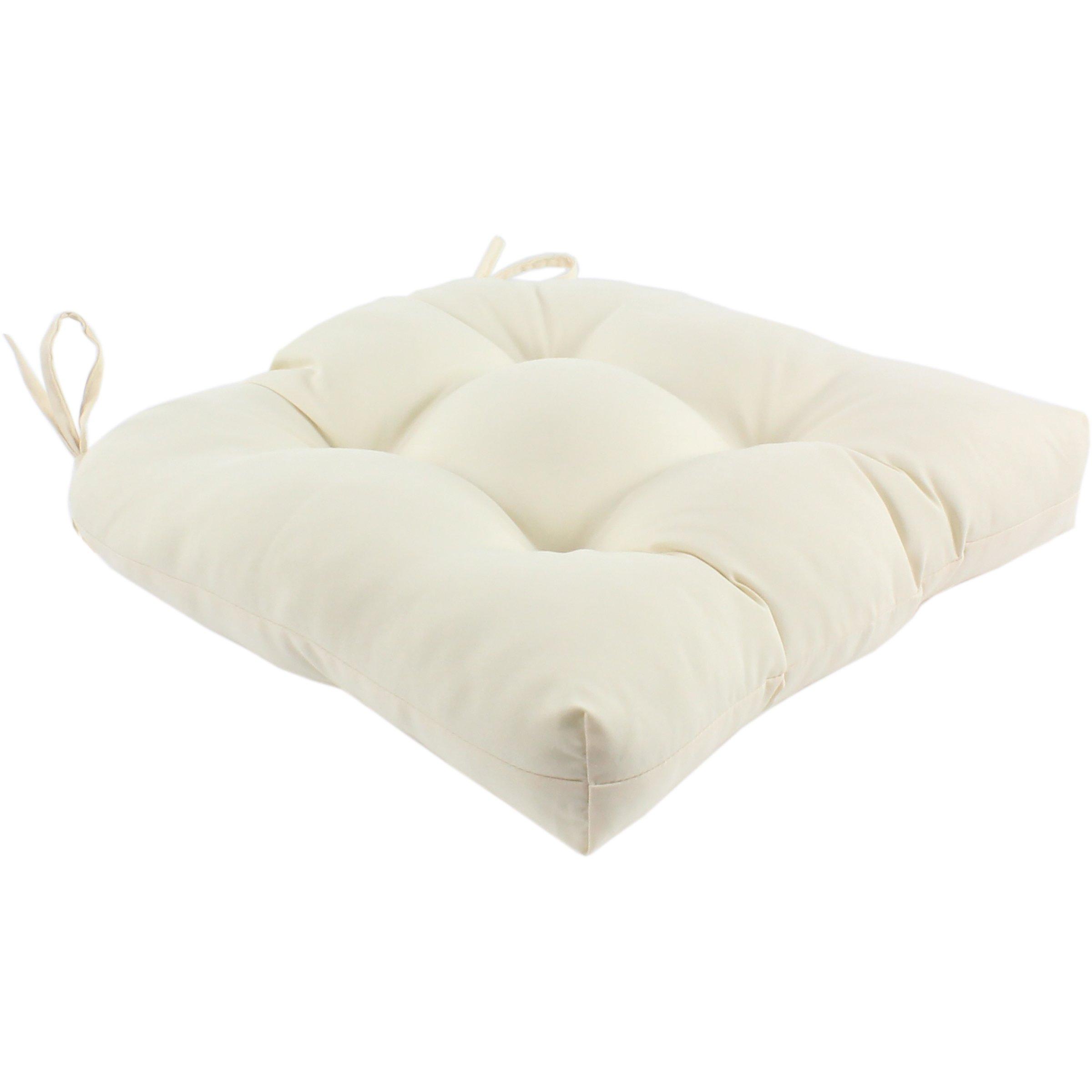 College Covers Indoor/Outdoor Seat Cushion Patio, Beige