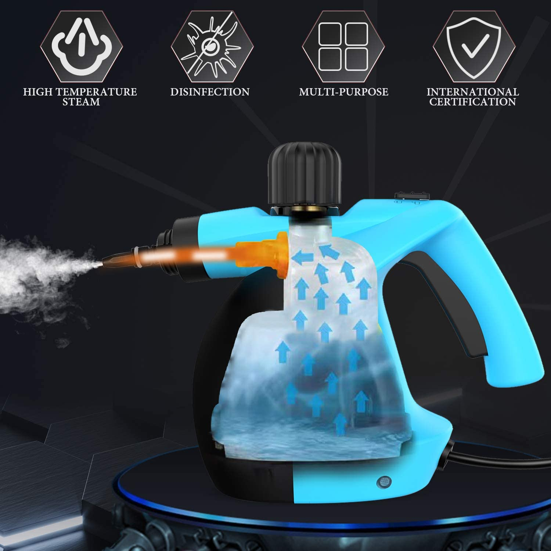 si/èges de voiture 11 accessoires pour enlever les taches avec tapis salle de bains MLMLANT Nettoyeur vapeur multi-usages 350 ml carrelage