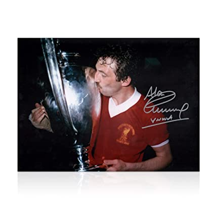ae18d467e22 Image Unavailable. Image not available for. Color  Alan Kennedy Signed  Liverpool FC Photo  European Cup Winner