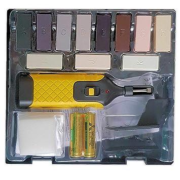 VABIONO Kunststoff Reparaturset für Kunststoff-Oberflächen Arbeitsplatte  PVC Vinyl Linoleum