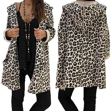 MEIbax Abrigos de Mujer Invierno Cubierta Atractiva de la Sudadera con Capucha de la Manera del