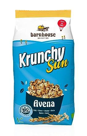 Barnhouse - Krunchy Sun Avena, Ecológico 750g: Amazon.es ...