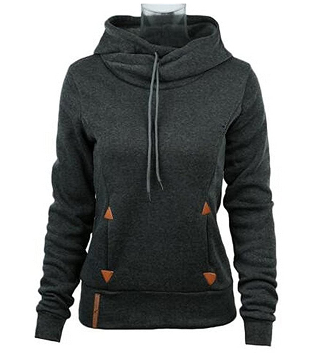 Amazon.com: Novelty-Hoodies Women Hoodies Self-Tie Pockets Pullover Hooded Loose Tops Hoodie for Women Sudaderas Mujer: Clothing