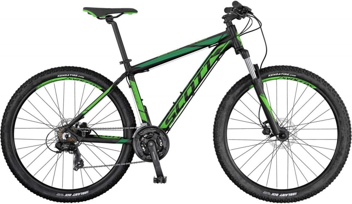 Bicicleta, colores negro y verde - Scott Aspect 760 , color verde ...