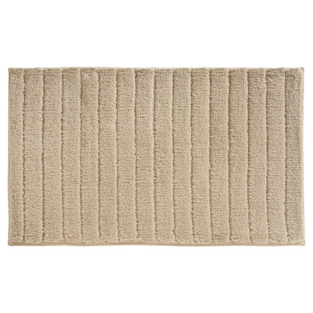 InterDesign Verto Rug, Linen, 34-Inch by 21-Inch