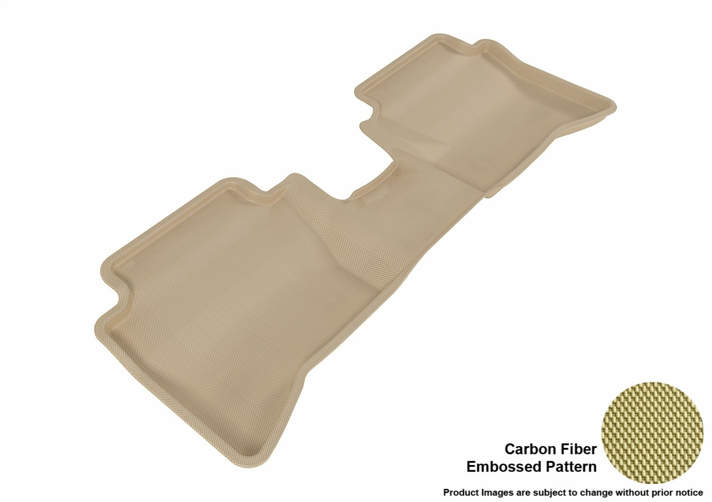 Black Kagu Rubber 3D MAXpider Complete Set Custom Fit All-Weather Floor Mat for Select Kia Rio//Rio5 Models
