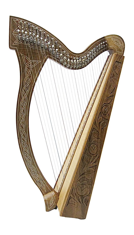 Angelsworld - Arpa celta con 29 Cuerdas halbtonclappen incl funda Nuevo Harp: Amazon.es: Instrumentos musicales
