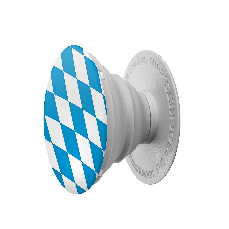 PopSockets PS Soporte telescópico para Smartphones y tabletas Estilo Bavarian Flag
