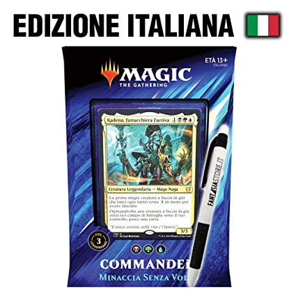 Magic The Gathering Minaccia Senza Volto - MTG Commander ...
