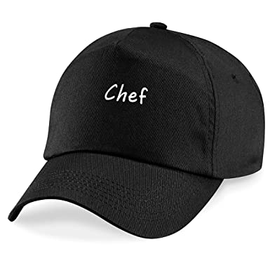 067d346afdc Chef Baseball Cap Hat Chef Worker Gift  Amazon.co.uk  Clothing
