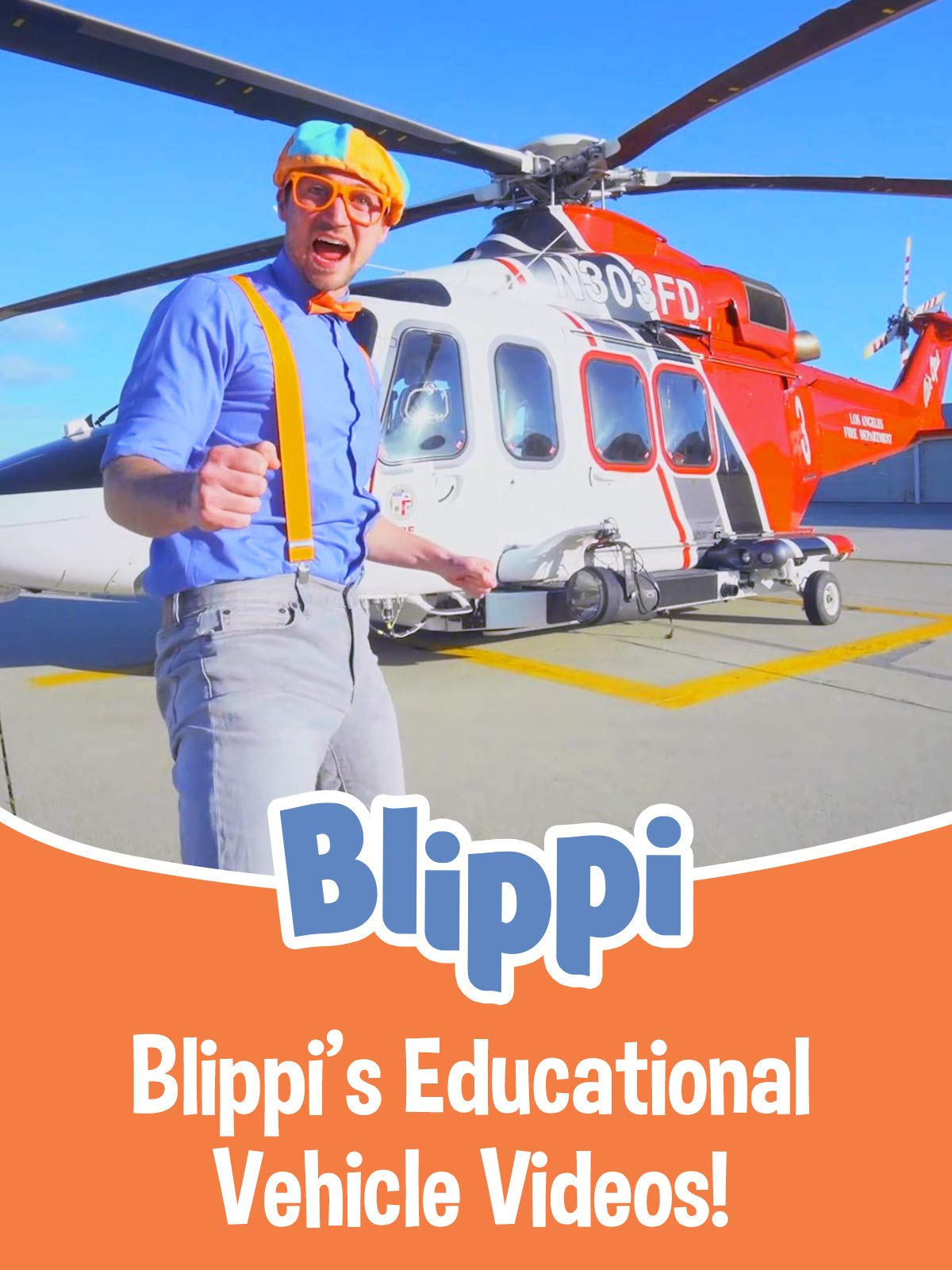 Blippi's Educational Vehicle Videos!