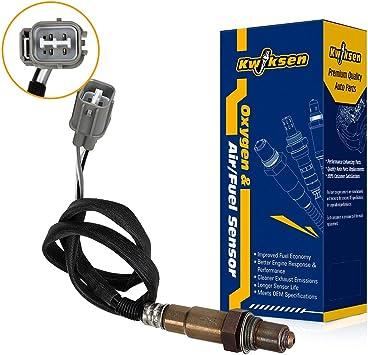 Kwiksen 2pcs Oxygen O2 Sensor 234-4065 234-4099 Upstream/&Downstream For 1996-2000 Honda Civic 1.6L D16Y7 Engine