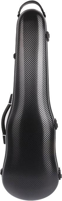 Funda para violín 4/4 de fibra de carbono mixta de 1,95 kg, funda de tamaño completo, peso ligero, fuerte de 150 kg de presión: Amazon.es: Instrumentos musicales