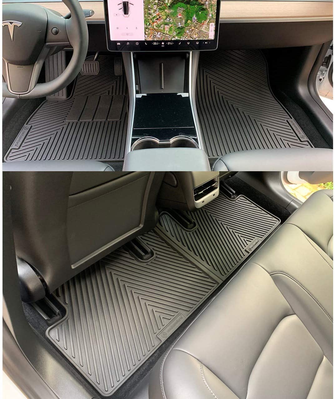 Connected Essentials 5033923 Grey with Red Trim Tailored Heavy Duty Custom Fit Car Mats Saab 93 2003