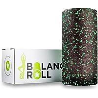 Balance Roll Original Faszienrolle Incl. Anleitung mit Übungsbeispielen (Härtegrad Mittel = Standard) Faszien Rolle zur Selbstmassage