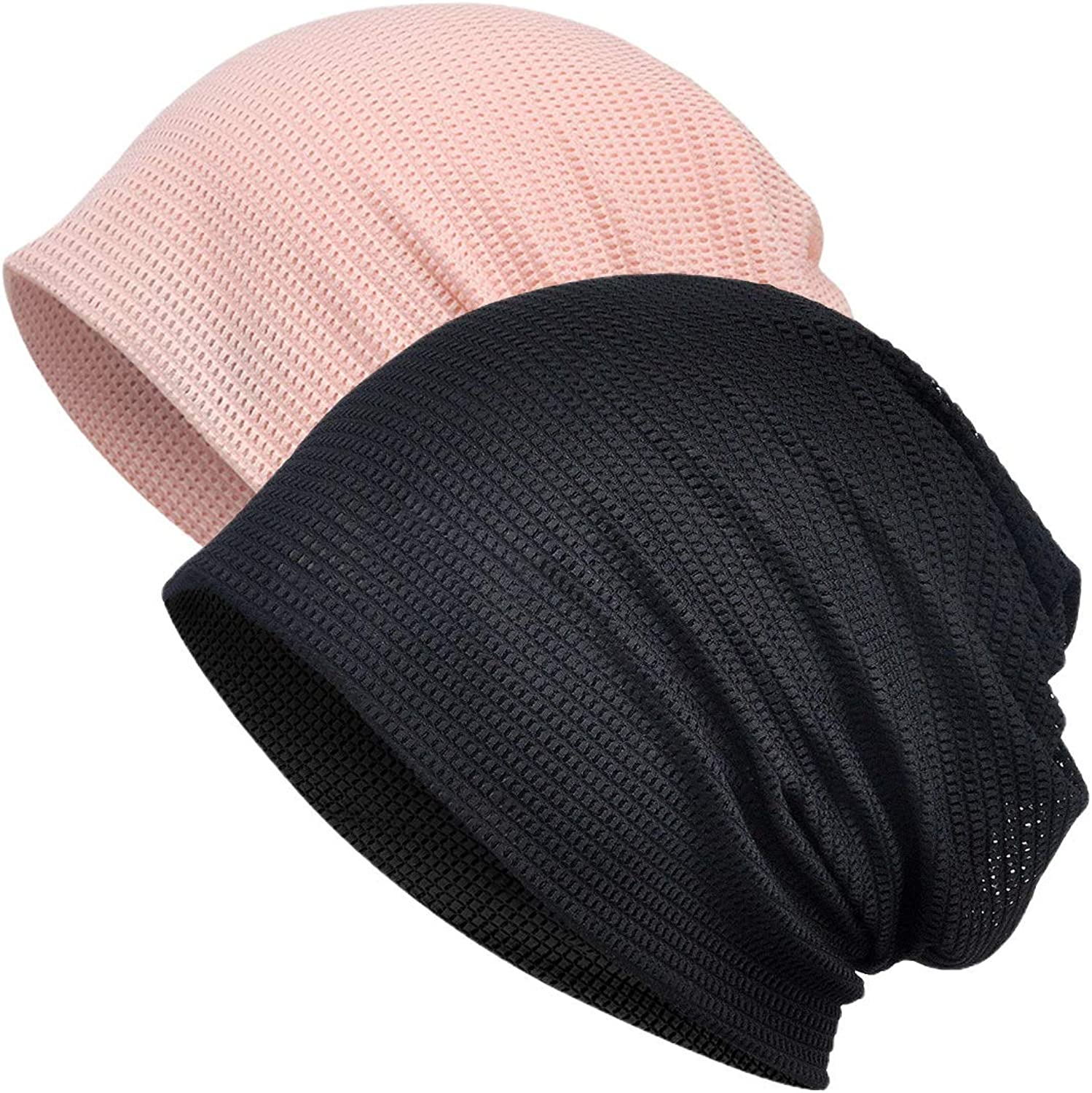 Yuzemumu Colorful Fashion Beanies Chemo Caps Cancer Headwear Skull Cap Knitted hat Scarf for Womens Mens (MZ013-2pack-A at  Women's Clothing store