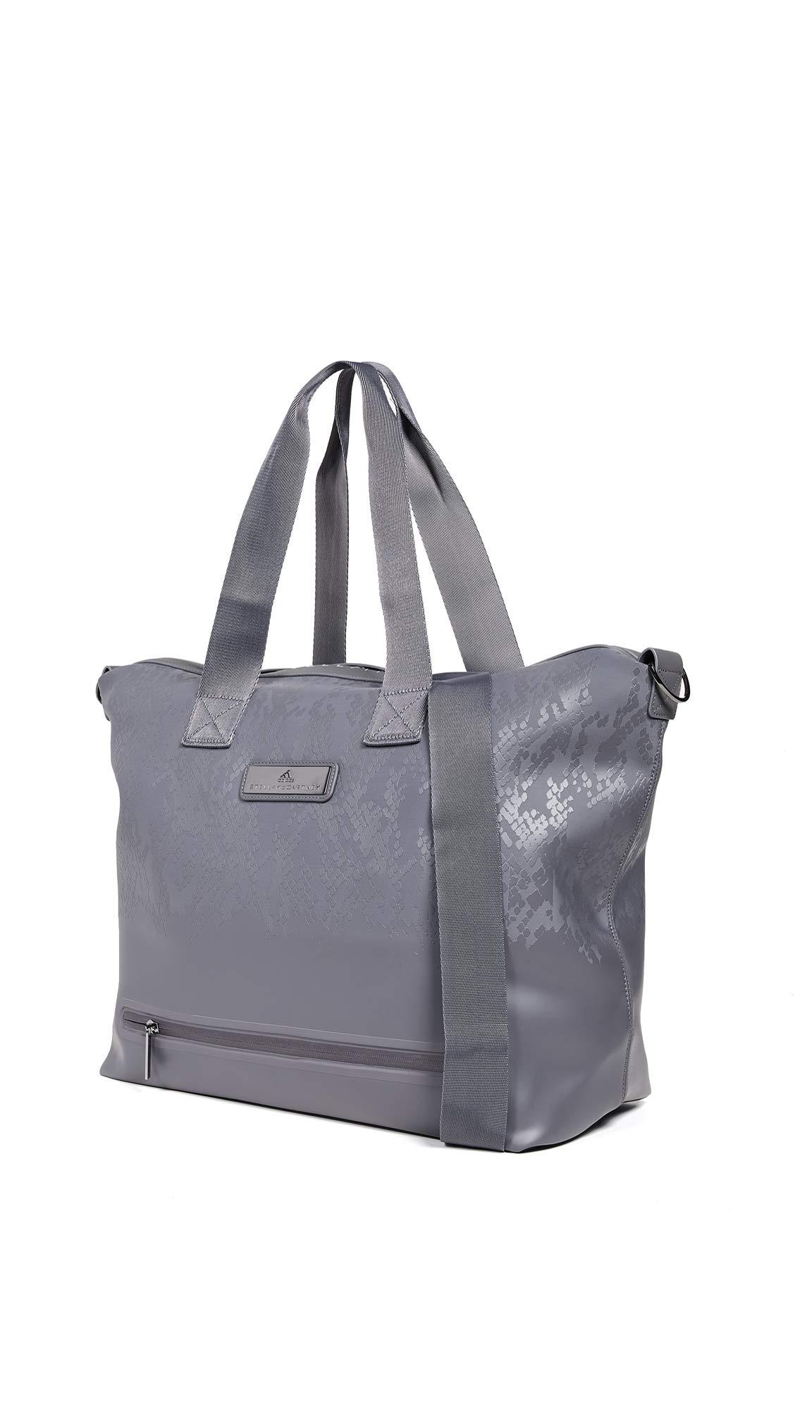 adidas by Stella McCartney Women's Studio Bag Tote, Granite, Grey, Print, One Size