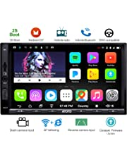 ATOTO A6 Double din Android de Navigation de Voiture stéréo avec Double Bluetooth - Standard A6Y2710SB 1G / 16G Radio multimédia de Voiture, WiFi/BT Internet Tethering, Soutien 256G SD et Plus