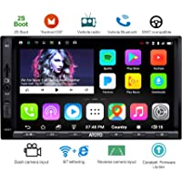 ATOTO A6 Doppio din Android Car Navigation Stereo con doppio Bluetooth - Standard A6Y2710SB 1G / 16G Car Multimedia Radio, WiFi / BT Tethering Internet, supporto 256G SD e altro