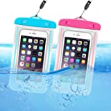 ORIbox Universal Waterproof Pouch Phone Dry Bag with Luminous Ornament Case for iPhone 11 Pro Max XS Max XR X 8 7 6S…