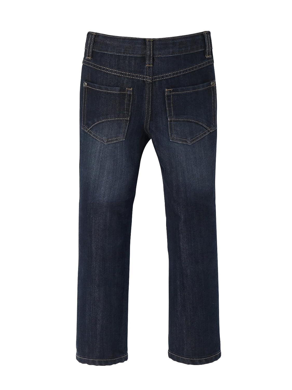 VERTBAUDET Boys Indestructible Straight-Cut Jeans