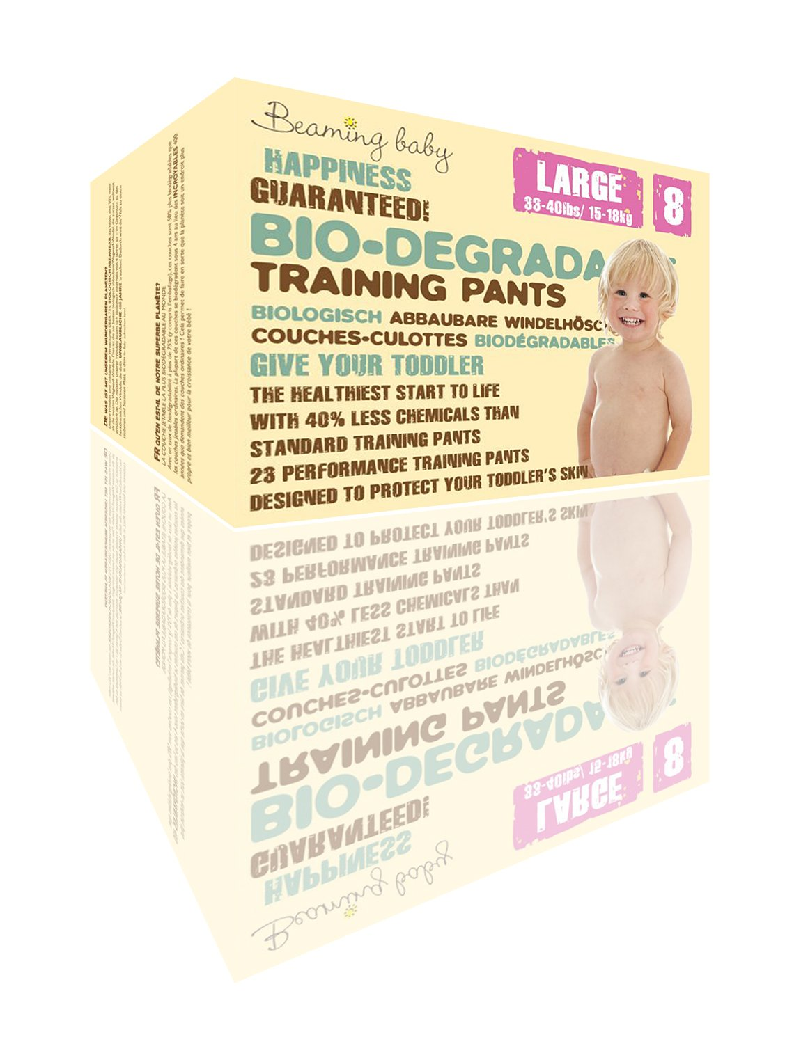 Beaming Baby Culottes d'apprentissage biodégradables Taille L AV30008